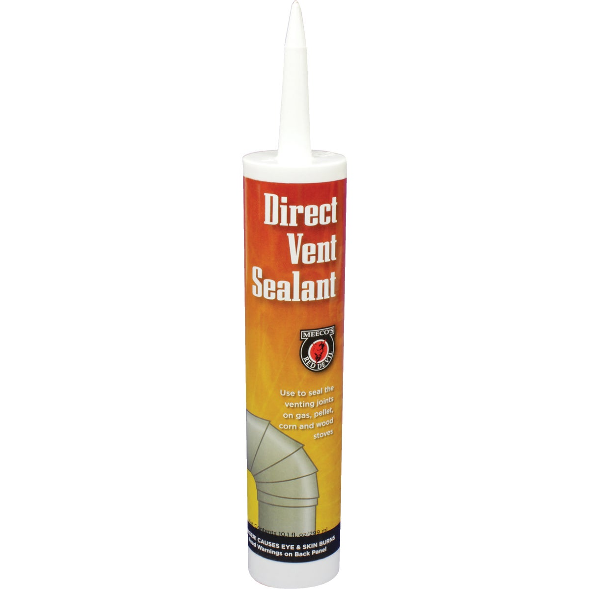BLK DIRECT VENT SEALANT - 615 by Meeco Mfg