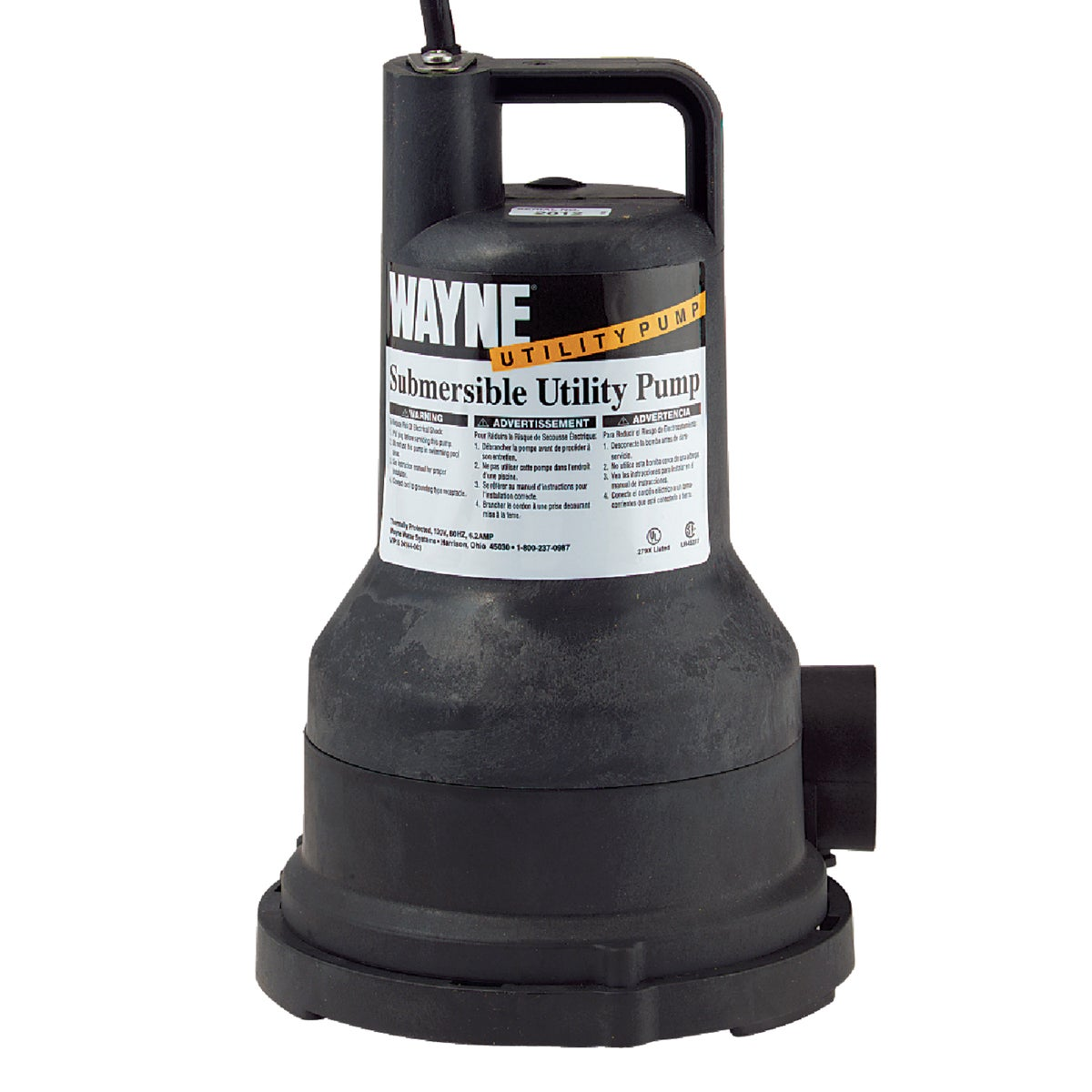1/5HP SUBM UTILITY PUMP - VIP15-57700 by Wayne Water Systems