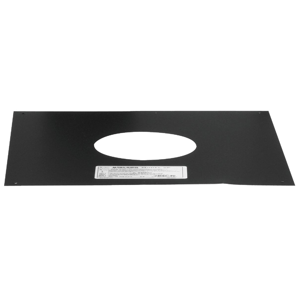 BLK PELLET TRIM PLATE - 3VP-TP by Selkirk Corporation
