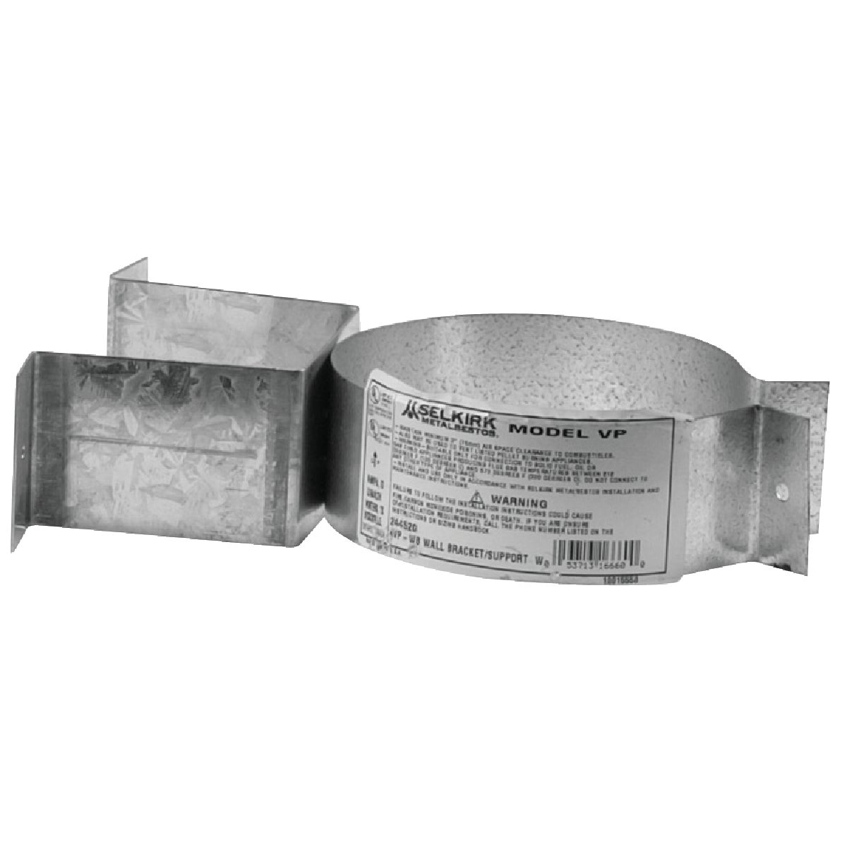 Selkirk PELLET PIPE WALL BRACKET 3VP-WB