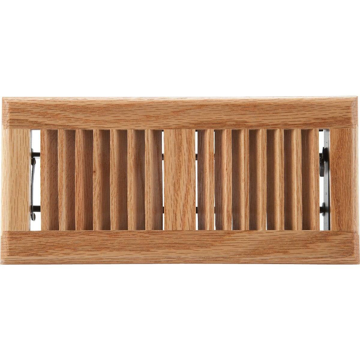 Home Impressions Contemporary Oak Floor Register, WF0410L0