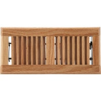 Home Impressions Contemporary Oak Floor Register, WF0410L0