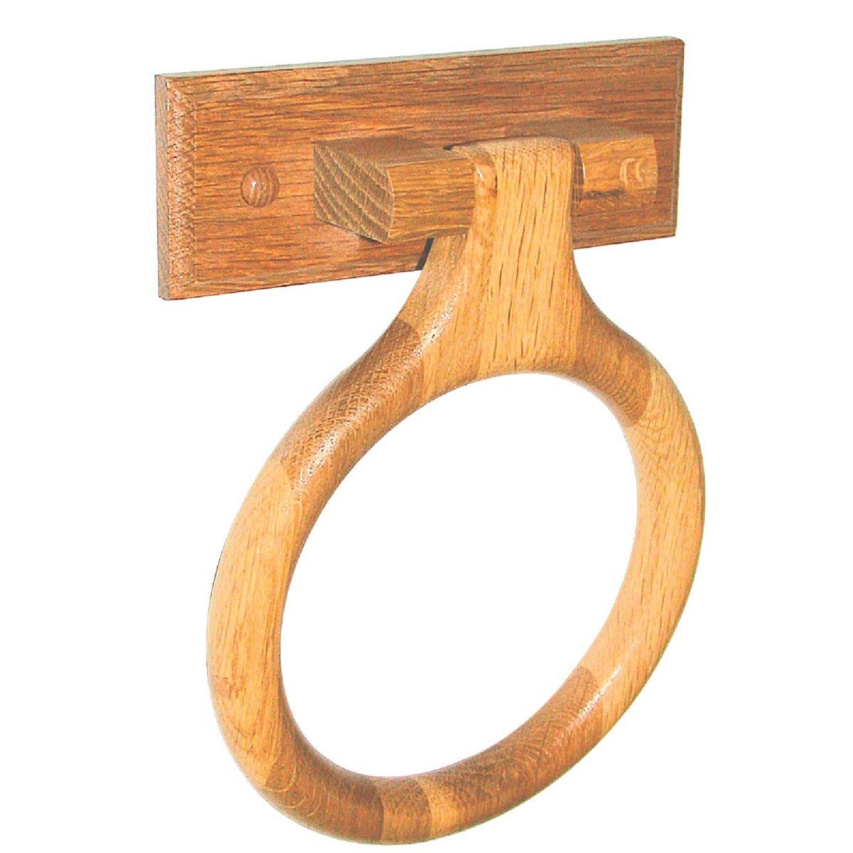 OAK TOWEL RING - B50701 by Do it Best Global Sourcing