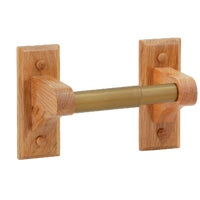 Do it Best Oak Imports OAK TOILET PAPER HOLDER B50501