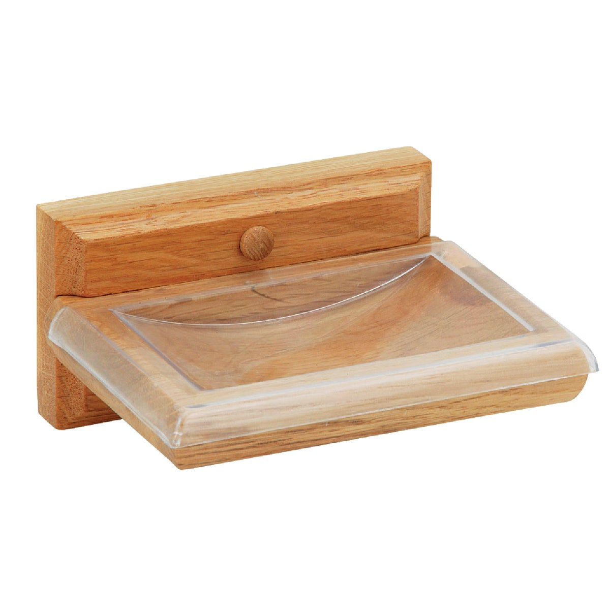 OAK SOAP DISH