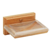 Do it Best Oak Imports OAK SOAP DISH B50101