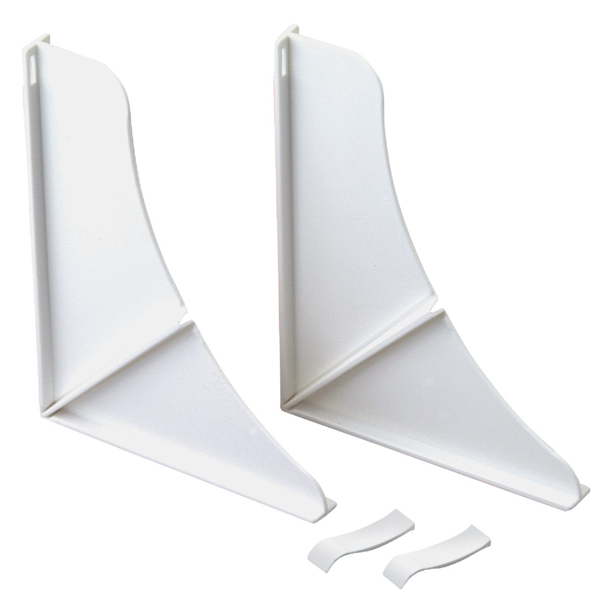 WHT SPLASH GUARDS - 76814WH by Delta Faucet Co