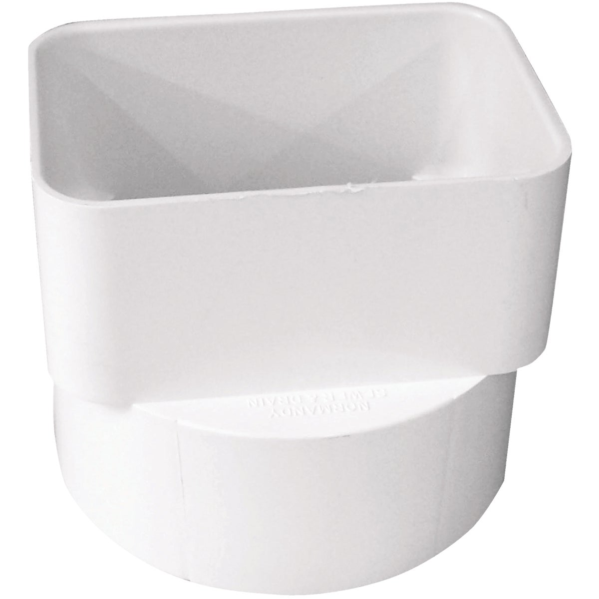 3X4X4 DOWNSPOUT ADAPTER - S45344 by Genova Inc