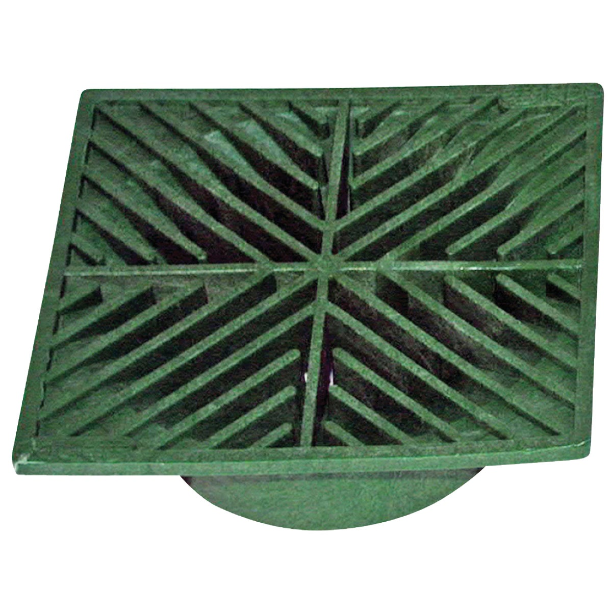 "6"" SQUARE GREEN GRATE - 05 by National Diversified"