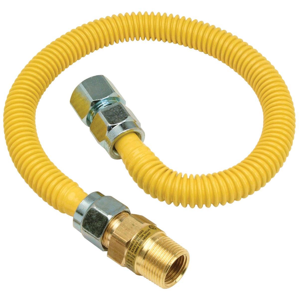 3/4X3/4-36 GAS CONNECTOR - CSSC12E-36P by Brass Craft