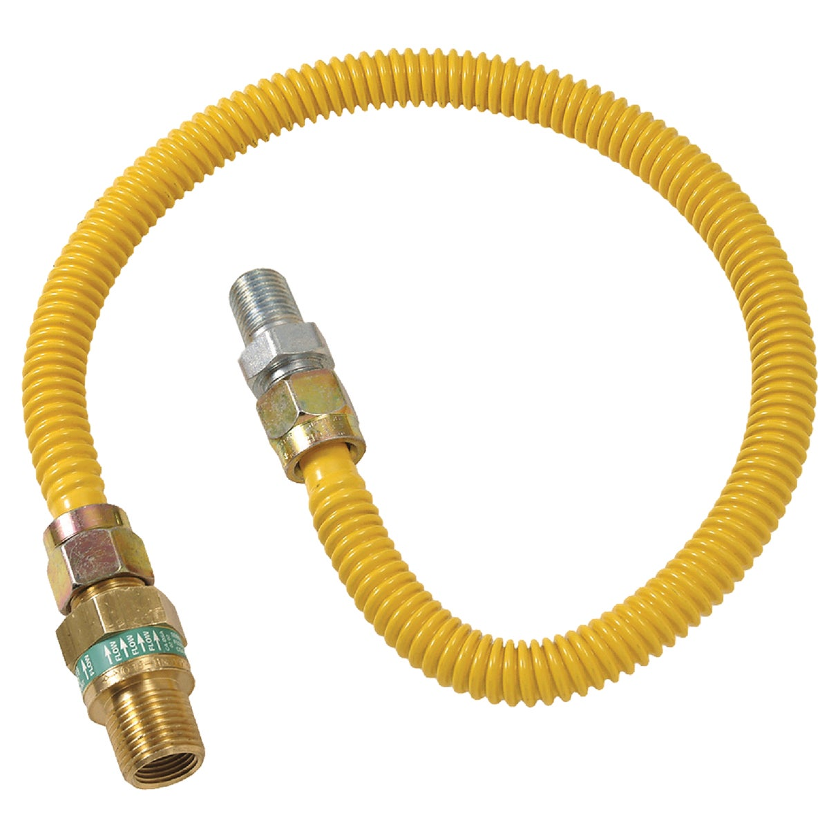 1/2X1/2-36 GAS CONNECTOR - CSSD44E-36P by Brass Craft
