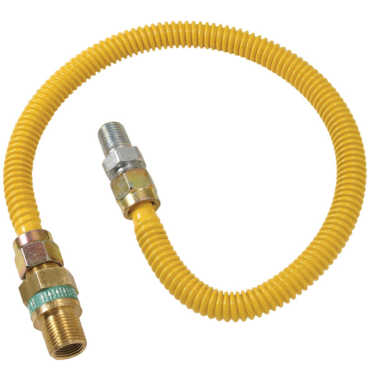 1/2X1/2-48 GAS CONNECTOR - CSSD44E-48P by Brass Craft