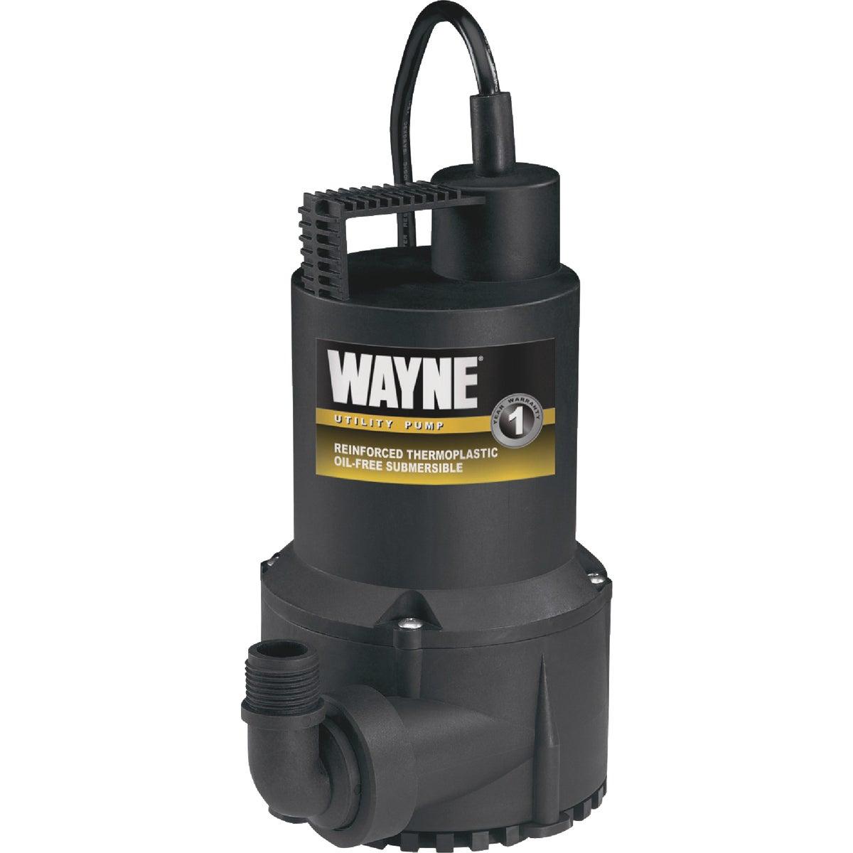 Wayne Home Equipment 1/6HP SUBM UTILITY PUMP RUP160