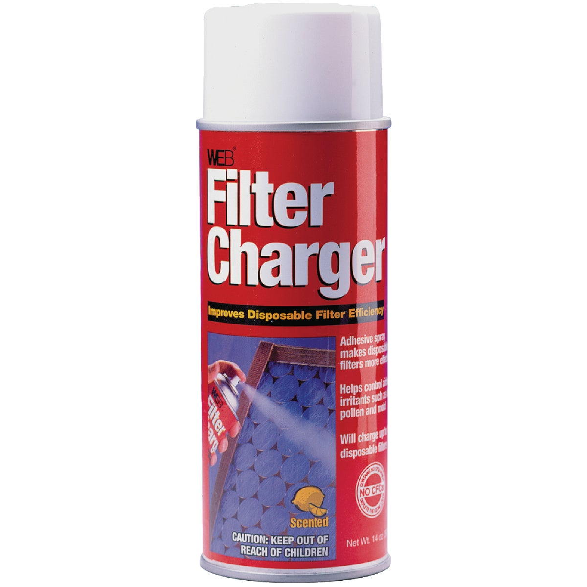 COATING FILTER CHARGER - WCHARGE by Web Products Inc