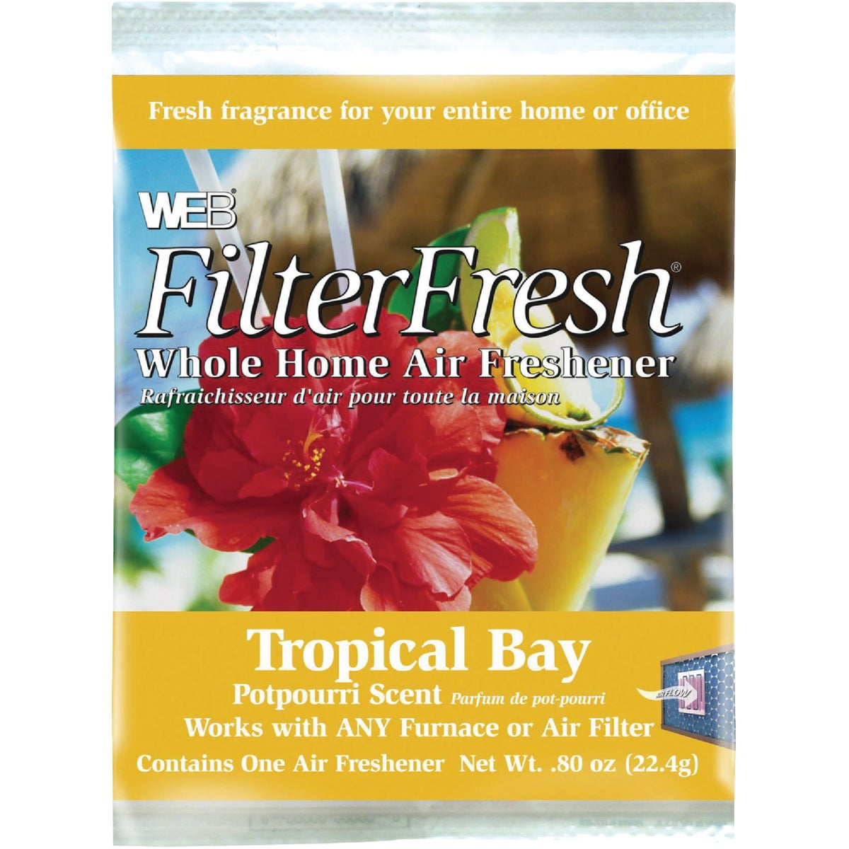 FILTER FRESH FRAGRANCE - WTROPIC by Web Products Inc