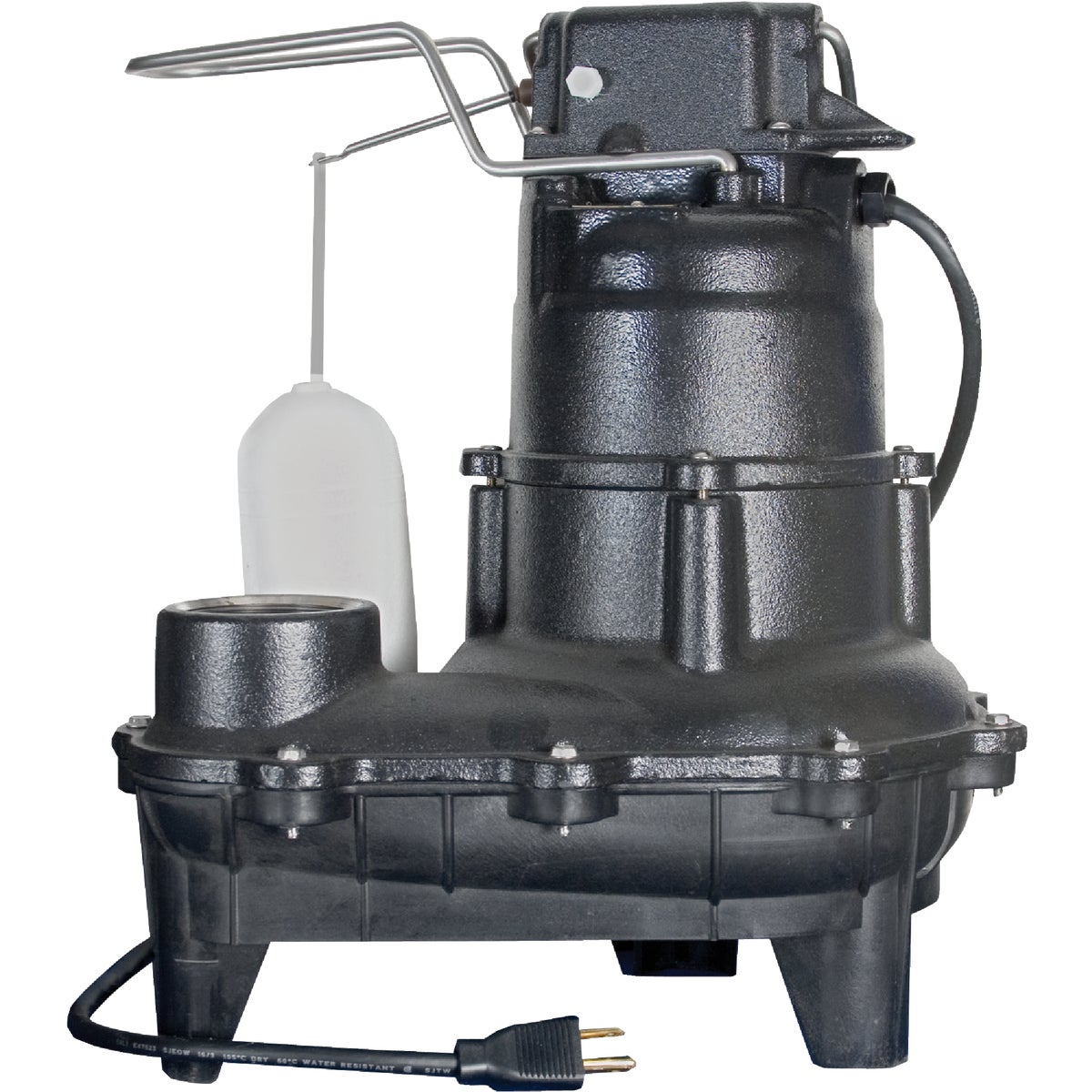 4/10HP CAST SEWAGE PUMP