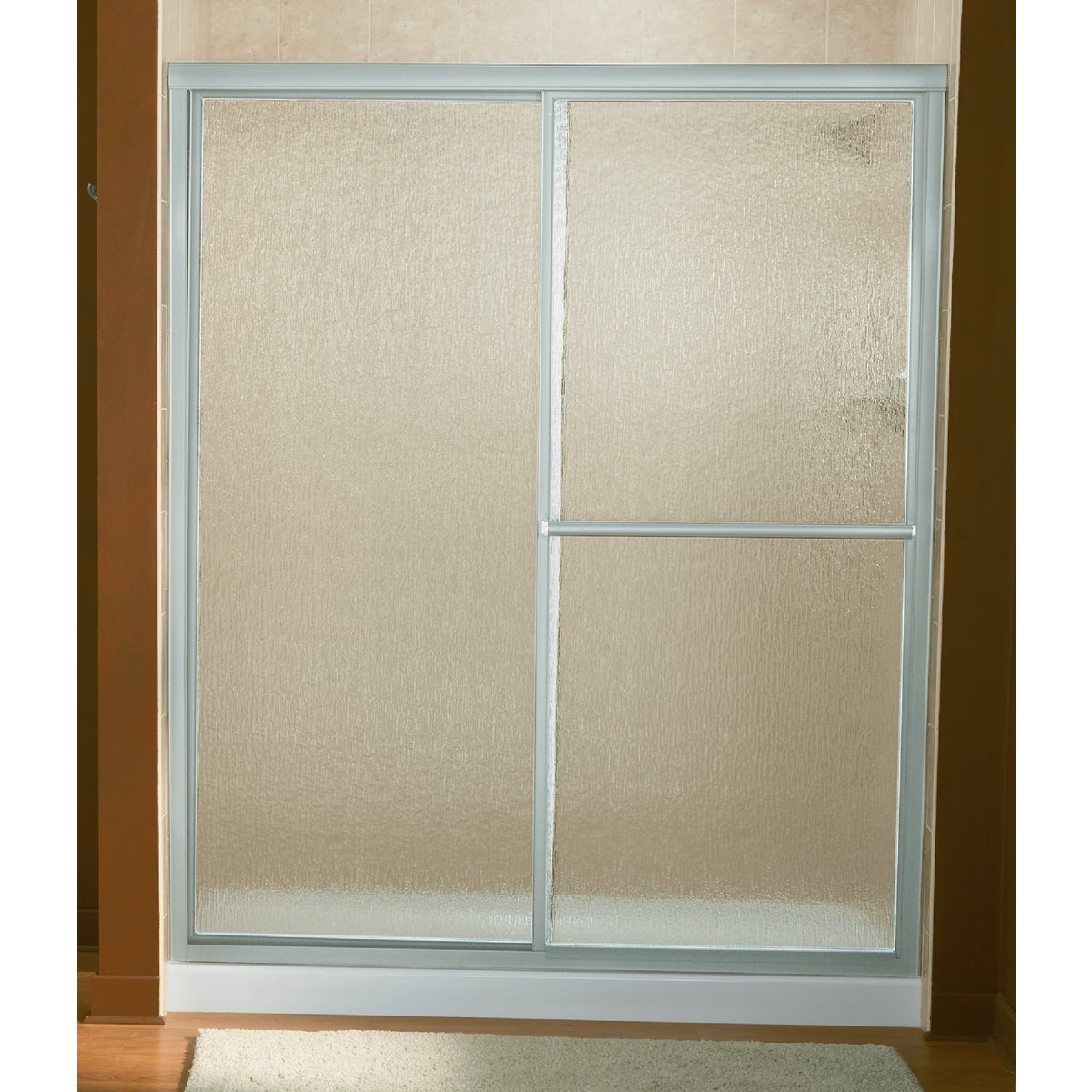 54-3/8-59-3/8 SLV SHW DR - 5976-59S by Sterling Doors
