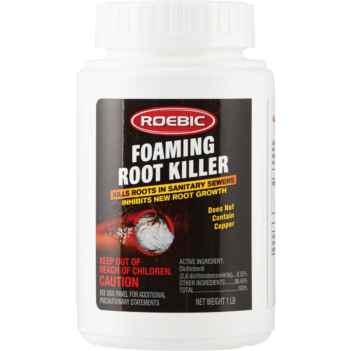 FOAMING ROOT KILLER - FRK by Roebic Laboratories