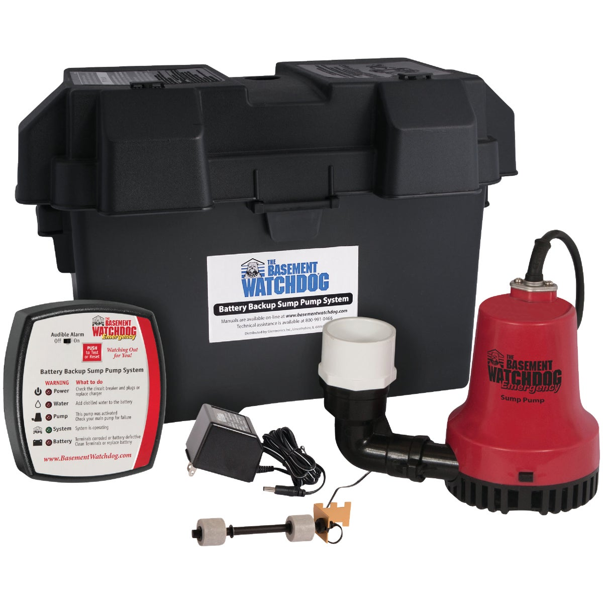 EMERGENCY SUMP PUMP - BWE by Glentronics Inc