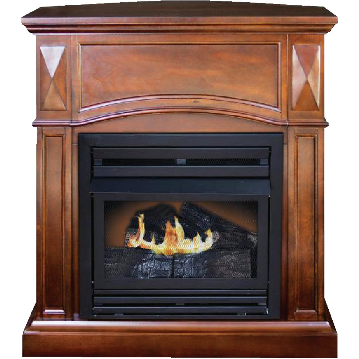 20K DUAL FUEL FIREPLACE - GFD2520 by World Marketing