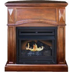 KozyWorld The Belmont Vent-Free Gas Fireplace
