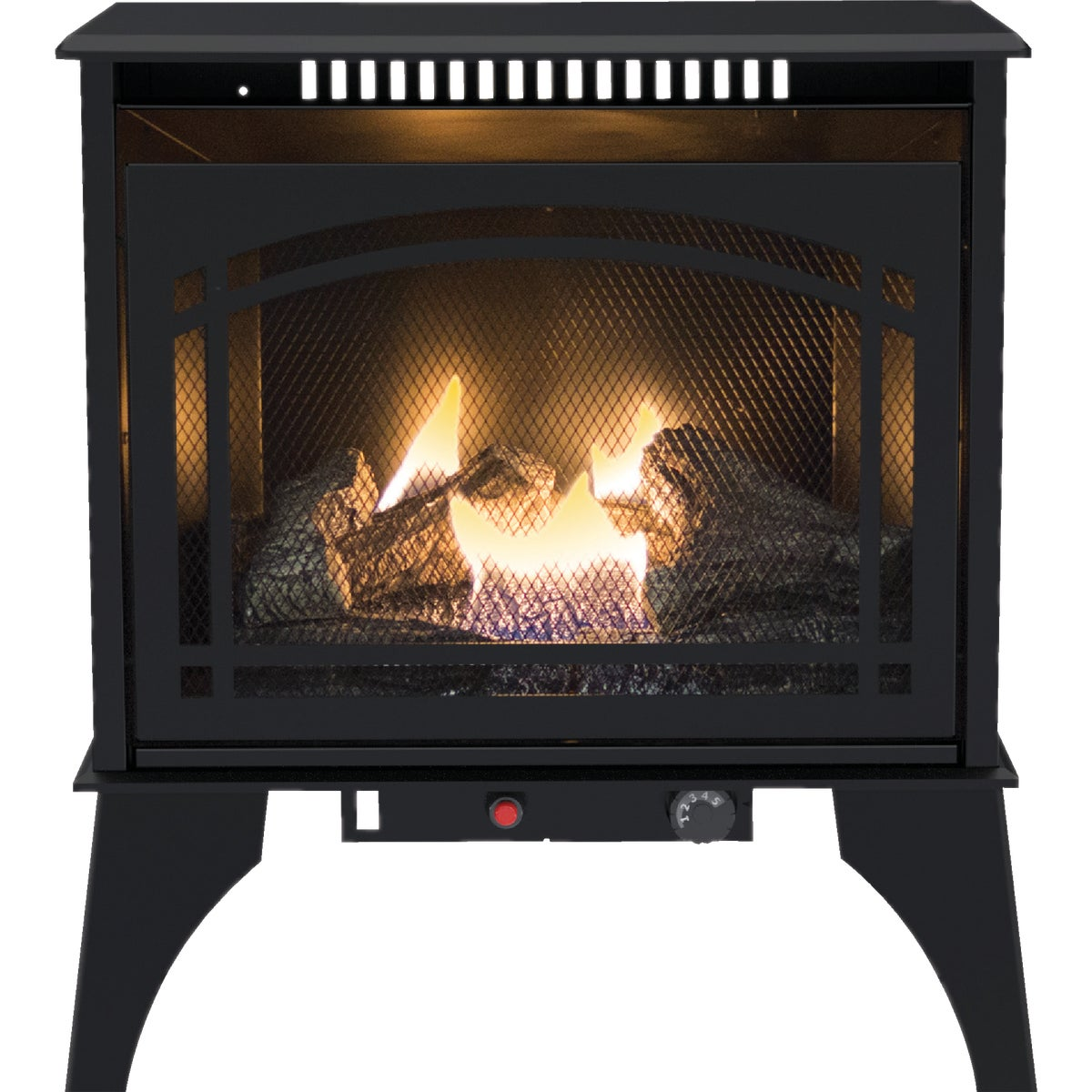 25K DUALFUEL TSTAT STOVE - GSD3033 by World Marketing