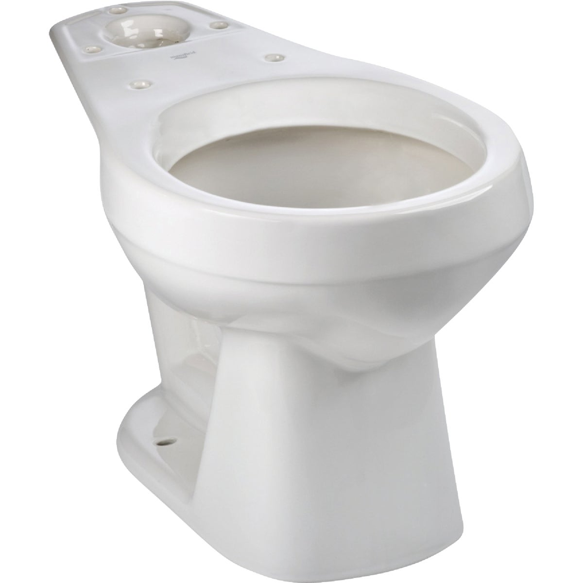 WHITE RF TOILET BOWL - 130010007 by Mansfield Plumbing