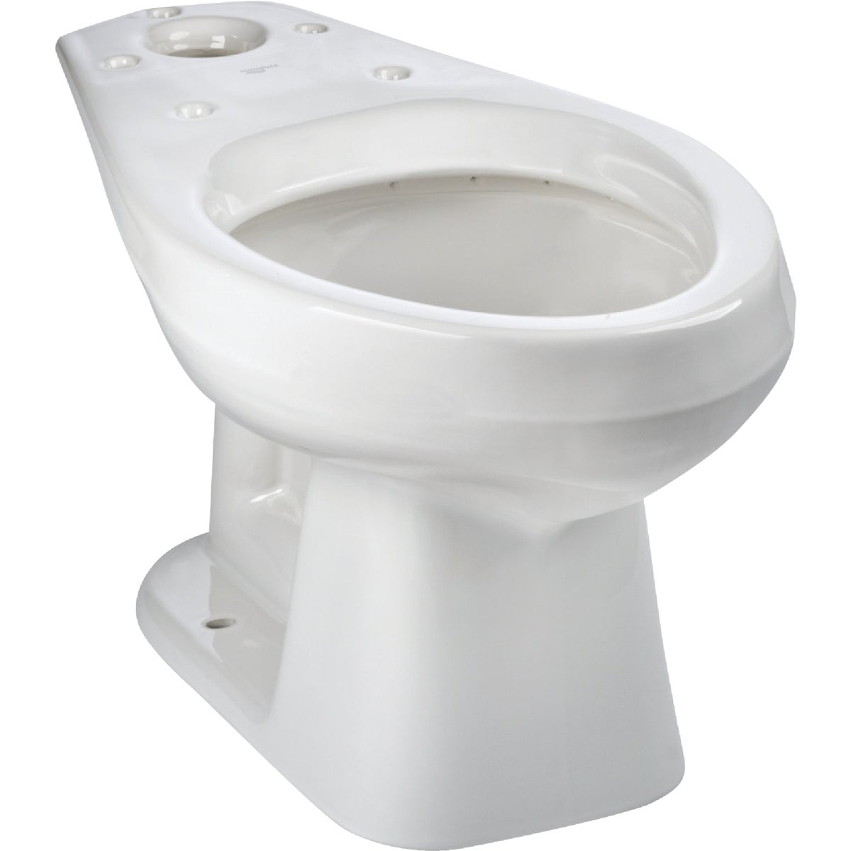 WHITE ELONG TOILET BOWL