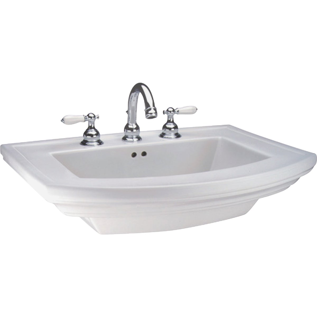 BARRETT WHT PED LAVATORY - 328410000 by Mansfield Plumbing