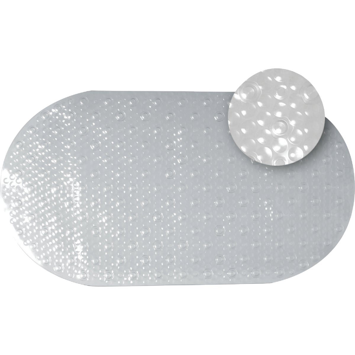 CLEAR BUBBLE BATH MAT - 80KK04 by Zenith Prod Corp