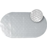 Zenith Prod. CLEAR BUBBLE BATH MAT 80KK04