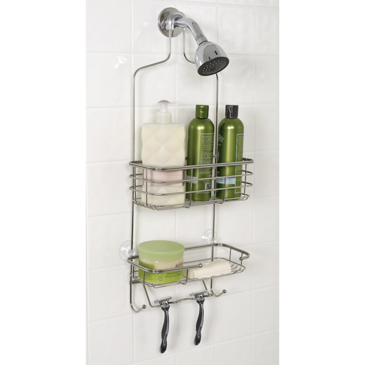 SS LRG SHOWER HEAD CADDY - 7704ST by Zenith Prod Corp