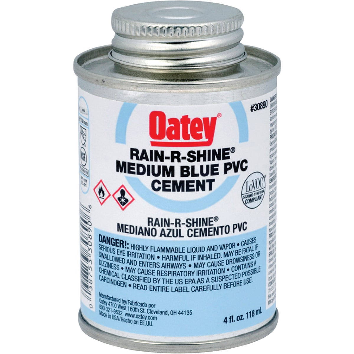 1/4PT WET PVC CEMENT - 30890 by Oatey Scs
