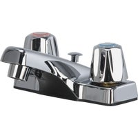 Globe Union CHR LAV FAUCET W/POP UP F40K1403CP-JPA3