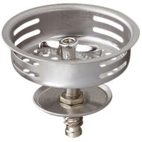 Do it Stainless Steel Basket Strainer Stopper With Threaded Post, 1433-1SS