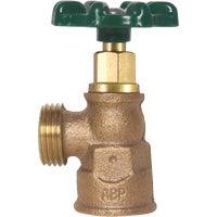 "1/2"" FIP 3/4"" Hose Thread Boiler Drain, 222LF"
