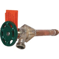 Arrowhead Brass 1/2 In. FIP X 3/4 In. MIP Anti-Siphon Frost Free Wall Hydrant, 465-08QTLF