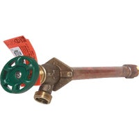 Arrowhead Brass 1/2 In. X 1/2 In. MIP X 3/4 In. HT Anti-Siphon, Frost Free Wall Hydrant, 466-06QTLF
