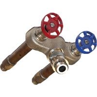 Arrowhead Brass 1/2 In. SWT X 1/2 In. MIP Hot & Cold Anti-Siphon Frost Free Wall Hydrant, 496-08LF