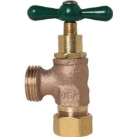 "1/2"" Compression X 3/4"" Hose Thread Washing Machine Valve, 221CCLF"