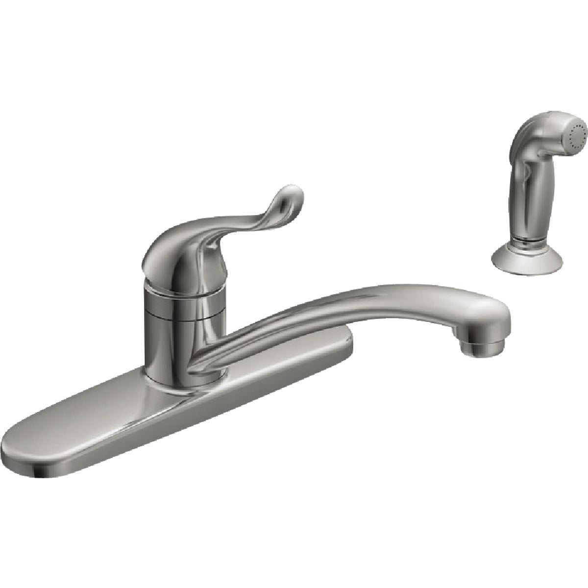 1H CHR KIT FAUCET W/SPRY - CA87530 by Moen Inc
