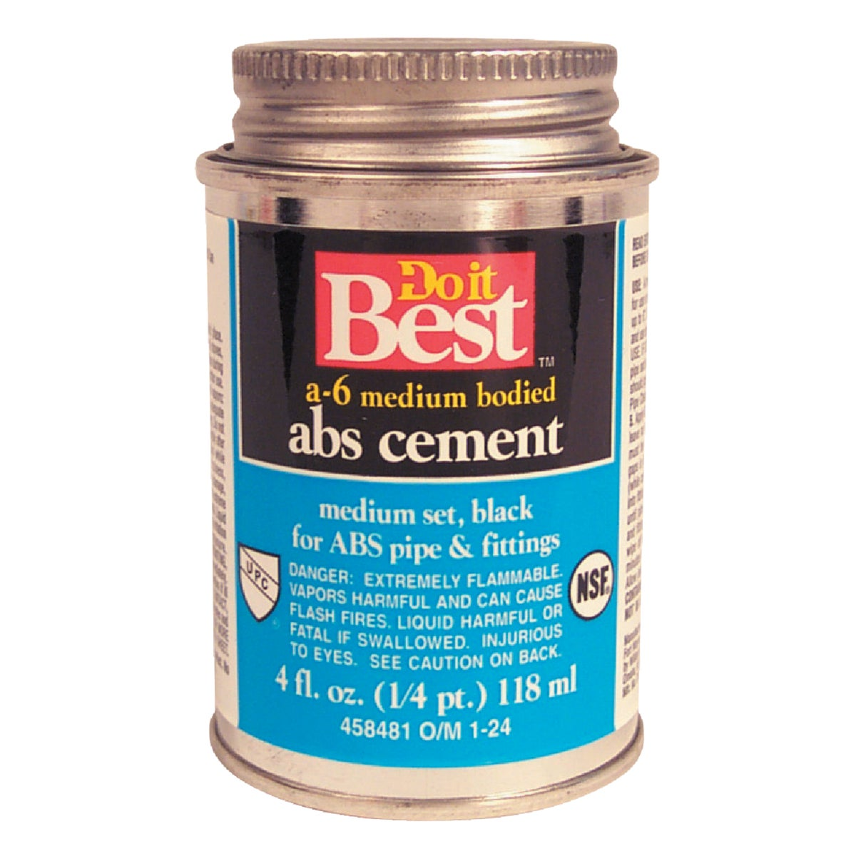 1/4PINT ABS CEMENT - 018502 by Wm H Harvey Co