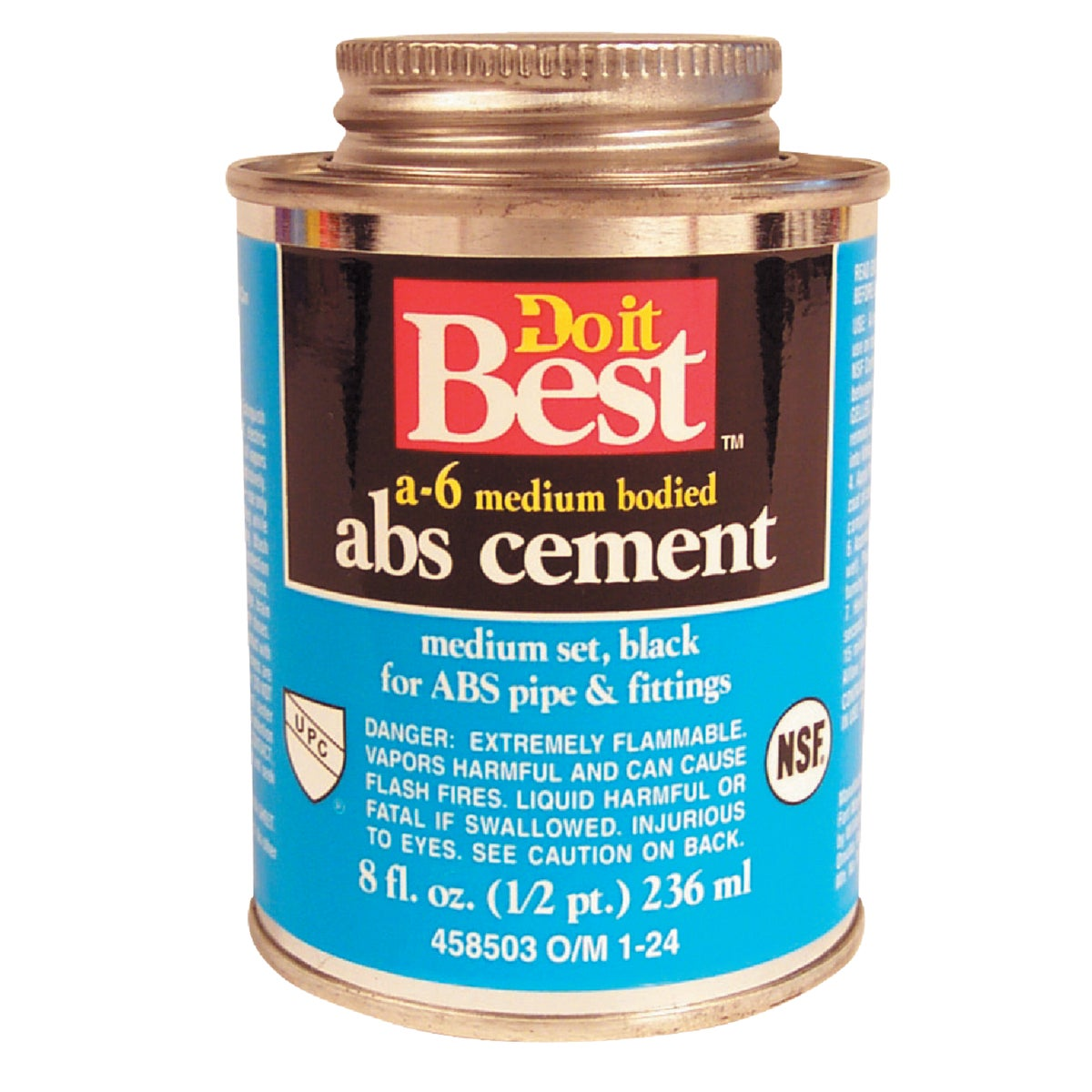 1/2PINT ABS CEMENT - 018512 by Wm H Harvey Co