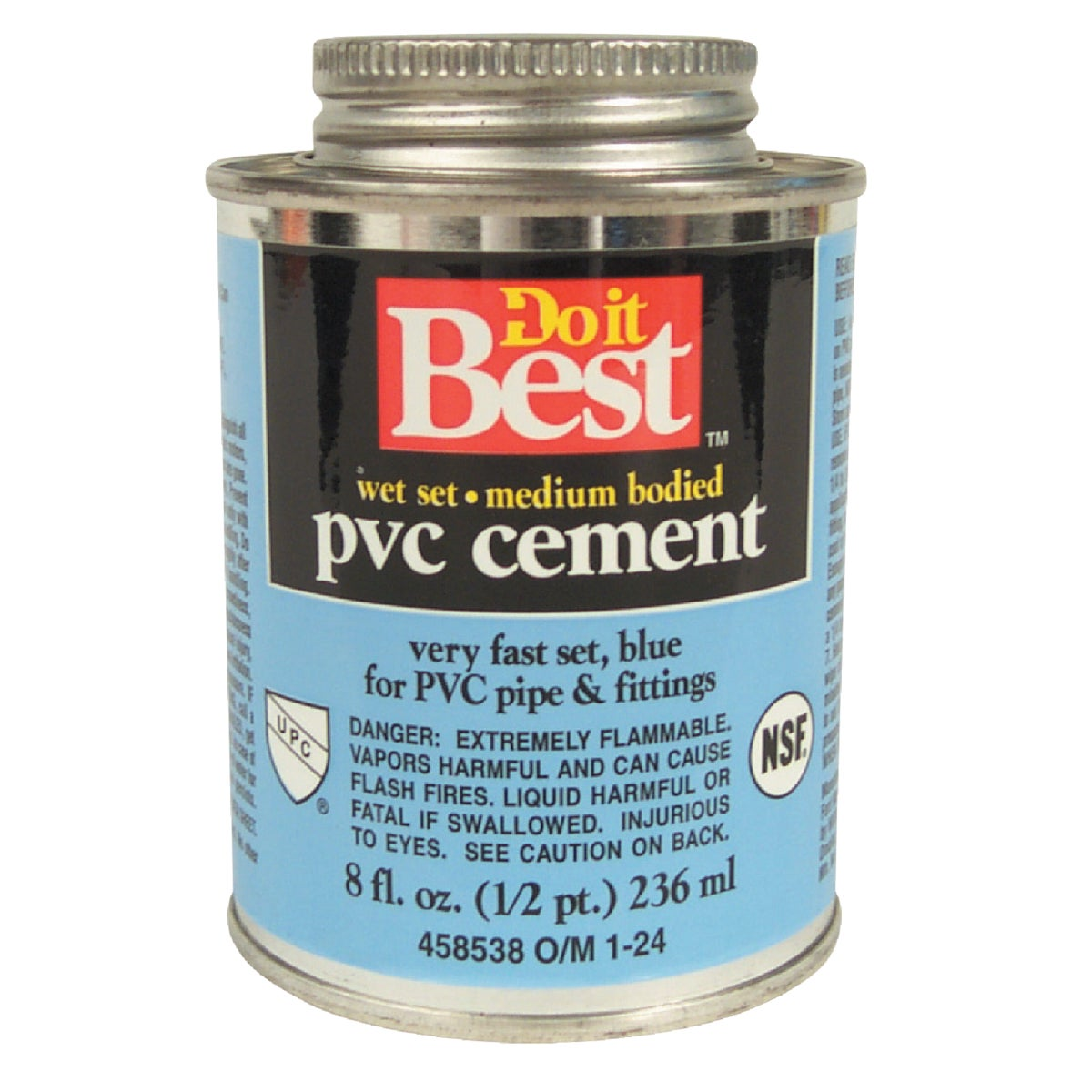 1/2PINT WET SET CEMENT - 018415 by Wm H Harvey Co