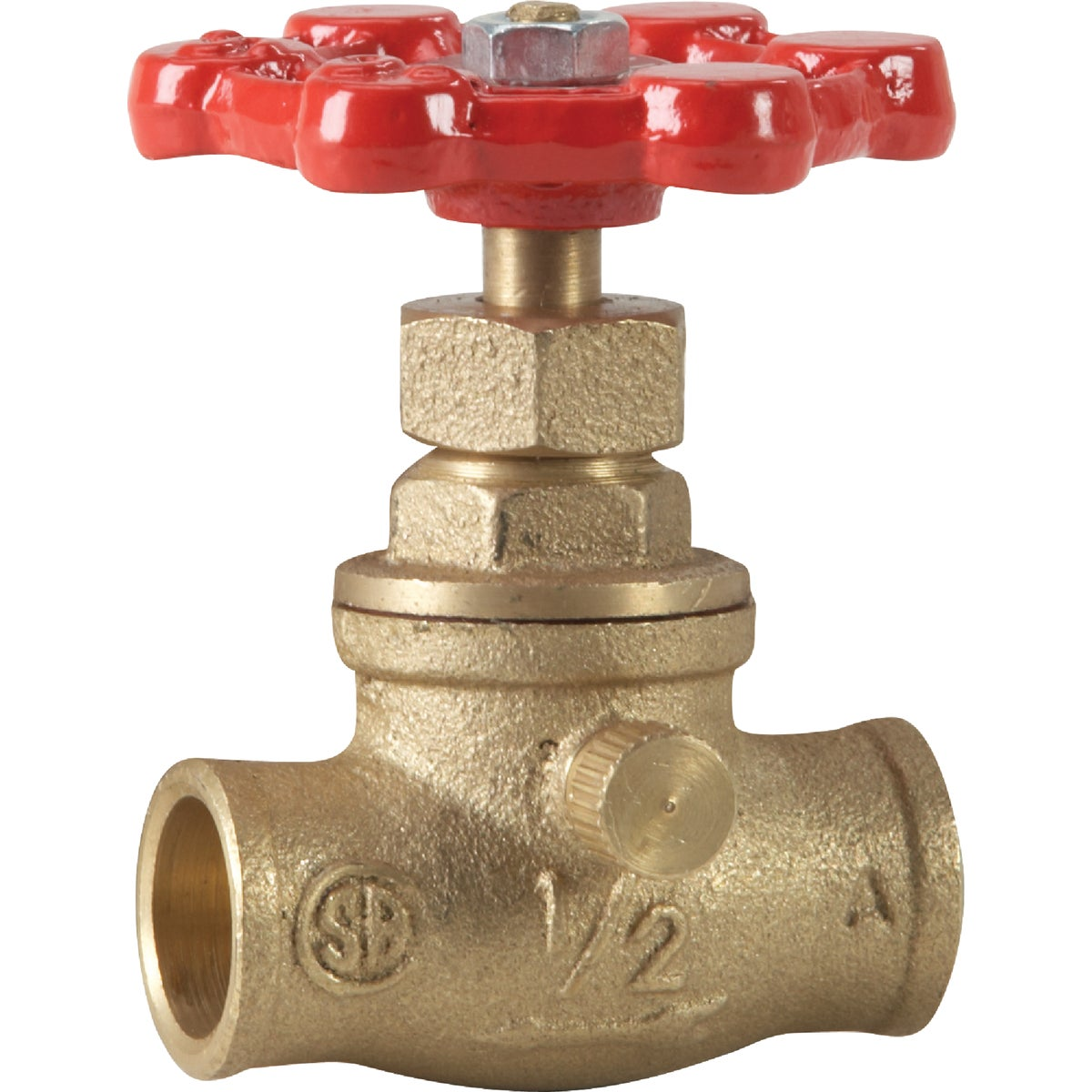 "1/2""SWT STOP/WASTE VALVE - 105-603NL by Mueller B K"