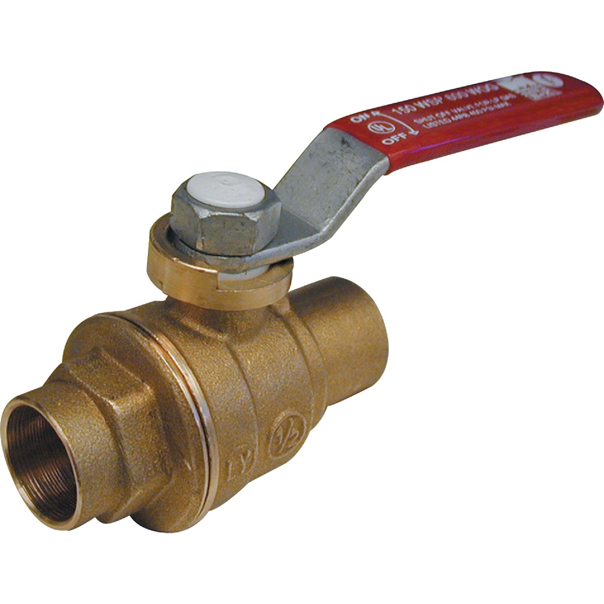 "1/2"" SWT BALL VALVE - 107-453NL by Mueller B K"