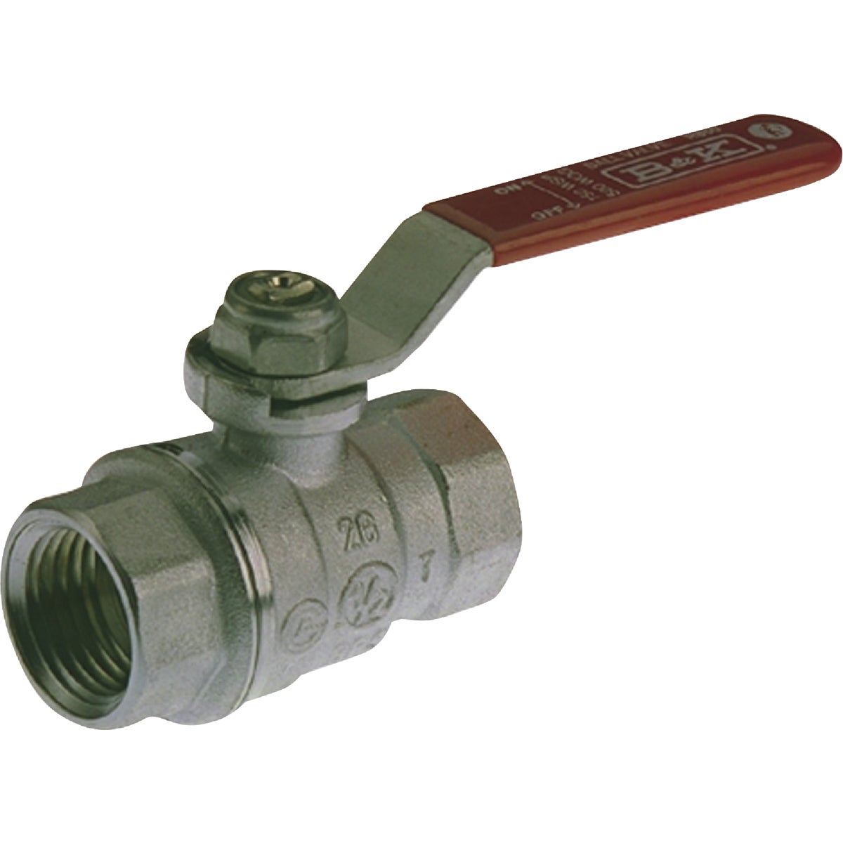 "1"" FIP CHROME BALL VALVE - 107-005NL by Mueller B K"