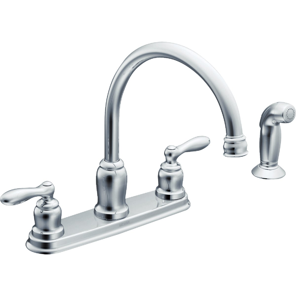 2H CH KIT FAUCET W/SPRY - CA87888 by Moen Inc