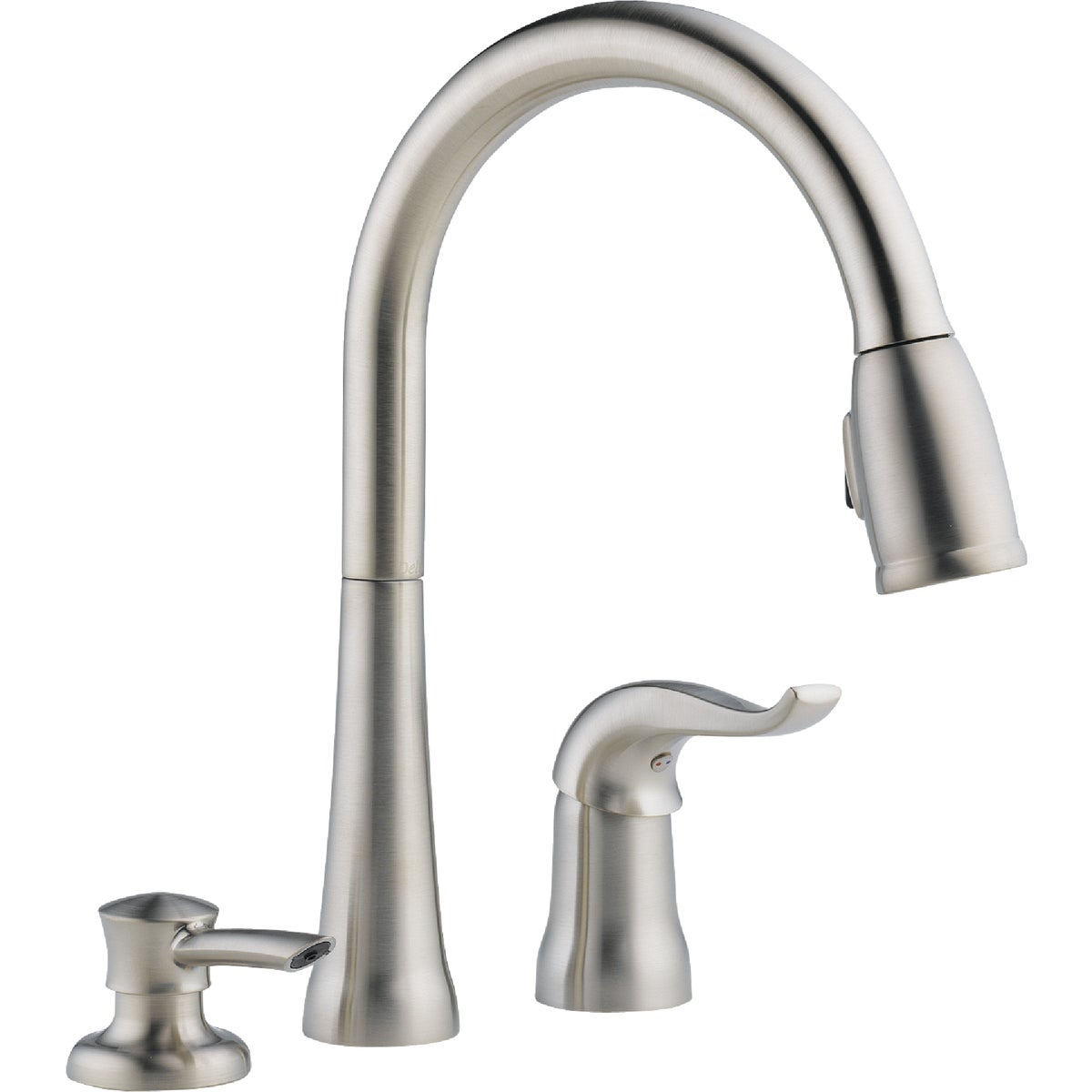 1H SS PD KITCHEN FAUCET - 16970-SSSD-DST by Delta Faucet Co