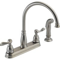 Delta Faucet 2H SS KIT FAUCET W/SPRY 21996LF-SS
